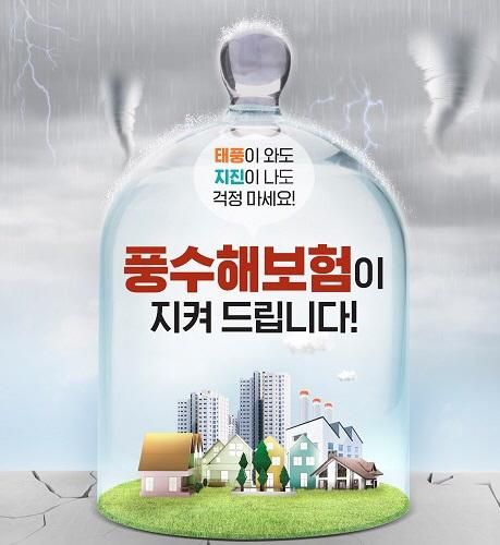 풍수해보험 포스터