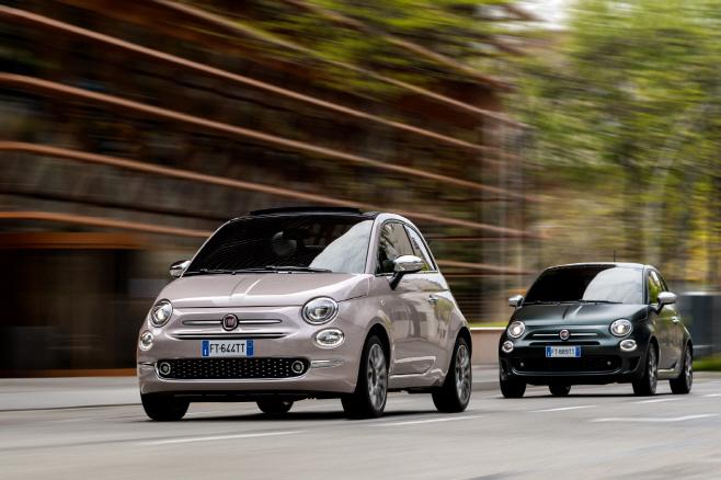 [사진자료] 피아트 500 차량 이미지