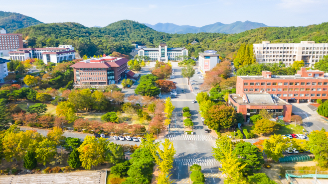 동국대경주캠퍼스전경