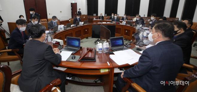 [포토] 국회 정보위 전체회의