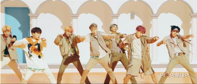 방탄소년단 '아이돌' 뮤직비디오