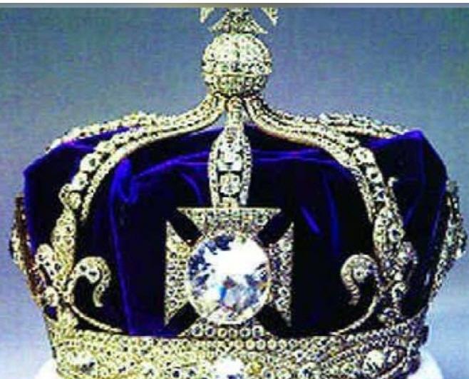 코히누르 다이아몬드 왕관