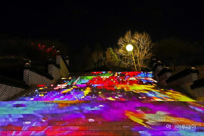 1209 정읍사공원, 야간 볼거리 명소로 재탄생
