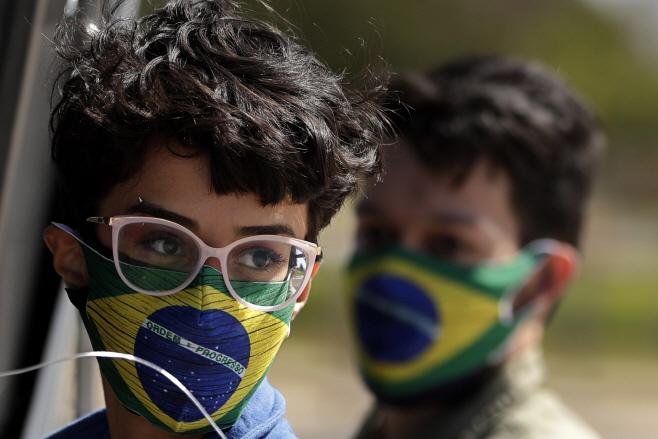 Virus Outbreak Brazil <YONHAP NO-0122> (AP)
