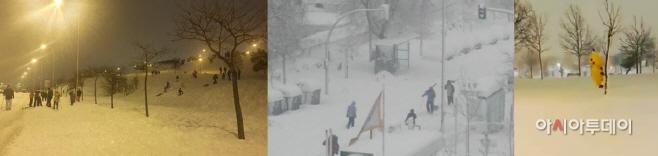 madrid, snow, filomena