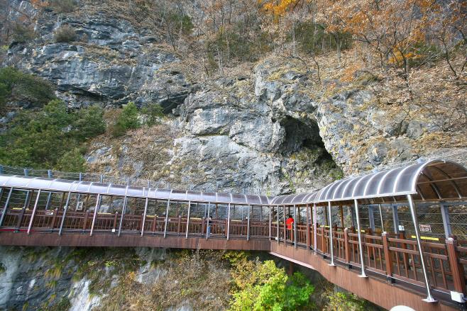 여행/ 단양강 잔도 석회동굴