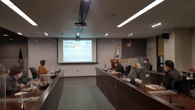 사진1. 맞춤대출 간담회(20210115)