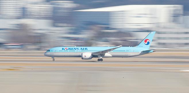 아시아나항공 인수에 속도내는 대한항공<YONHAP NO-3577>