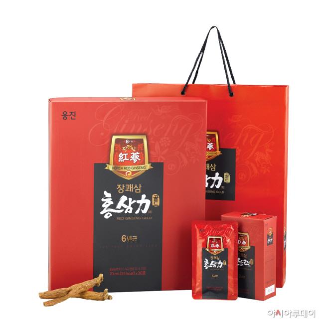 웅진식품_장쾌삼 홍삼력 골드