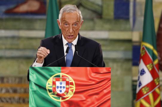 Portugal Presidential Election <YONHAP NO-0906> (AP)