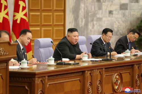 북한 노동당 전원회의 사흘째 이어가