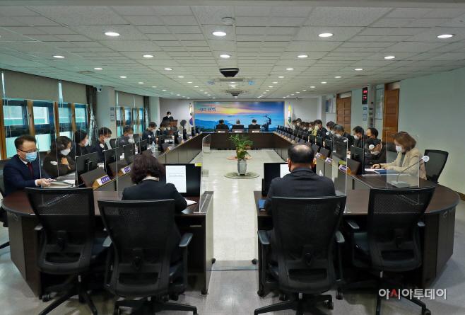 태백시 2021년 신속집행 추진상황 보고회