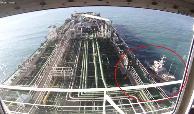 한국 선박 이란 나포