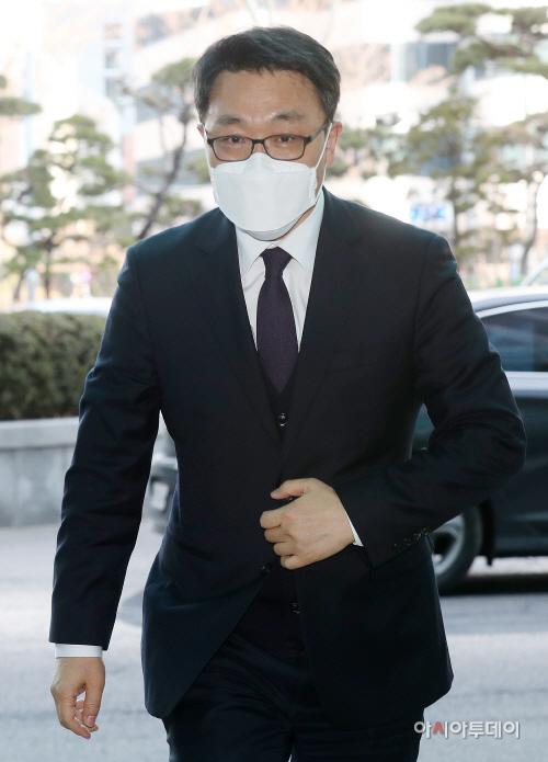[포토] 김진욱, 경찰청 방문