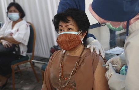 Virus Outbreak Indonesia <YONHAP NO-3942> (AP)