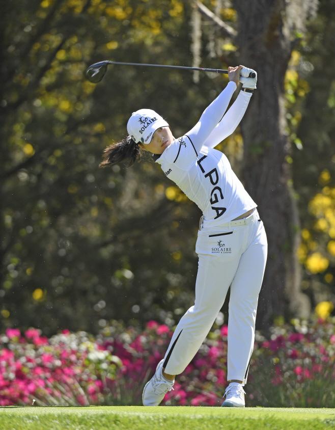 LPGA Tour Golf <YONHAP NO-1004> (AP)