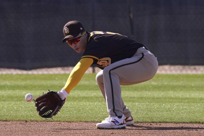 Padres Spring Baseball <YONHAP NO-1646> (AP)