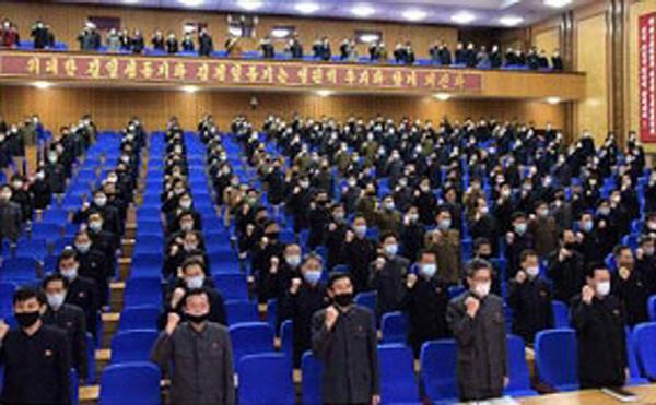 북한 경제분야 각 기관·기업소들 일제히 궐기모임