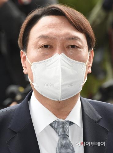 [포토]윤석열 검찰총장, '사의 표명'