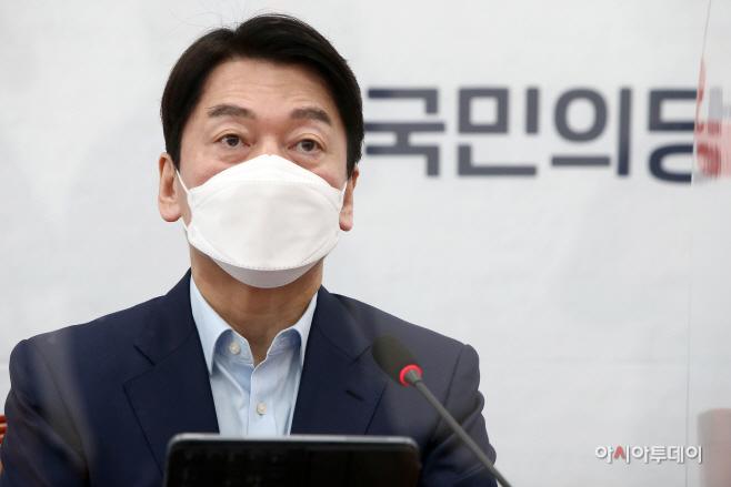 [포토] 안철수 '文대통령, LH 직원 투기 의혹...사과해야'
