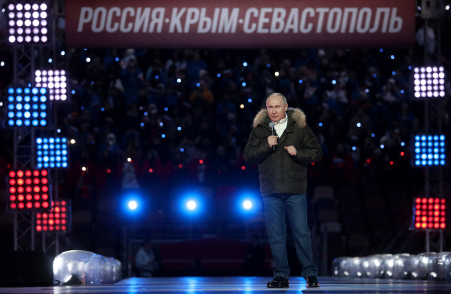 Concert in Moscow marks 7th anniversary of reunification of Crimea with Russia
