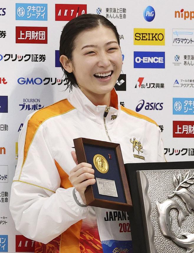 Olympics Tokyo Ikee Swimming <YONHAP NO-4317> (AP)