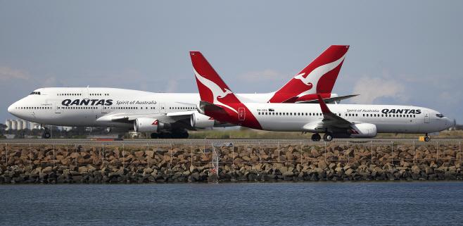 Australia Qantas <YONHAP NO-4700> (AP)