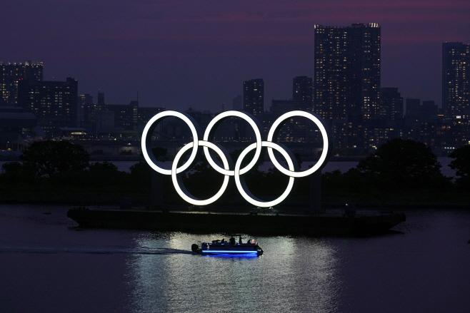 Olympics Tokyo Oxford Cost Study <YONHAP NO-3325> (AP)