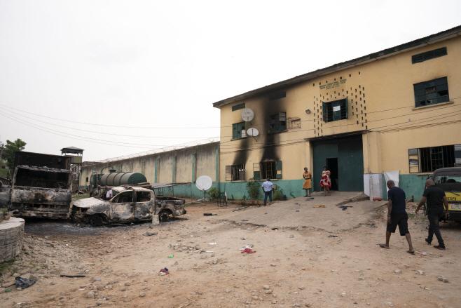 나이지리아 집단 탈옥