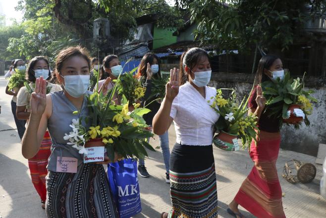 Myanmar <YONHAP NO-2744> (AP)