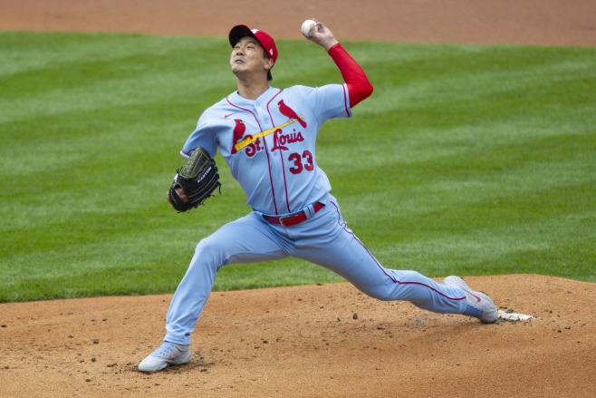 Cardinals Phillies Baseball <YONHAP NO-1808> (AP)