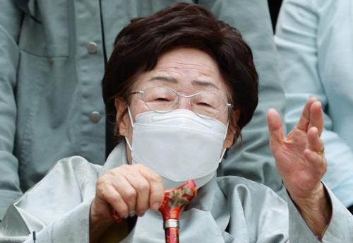 이용수 할머니 '국제사법재판소 간다!'