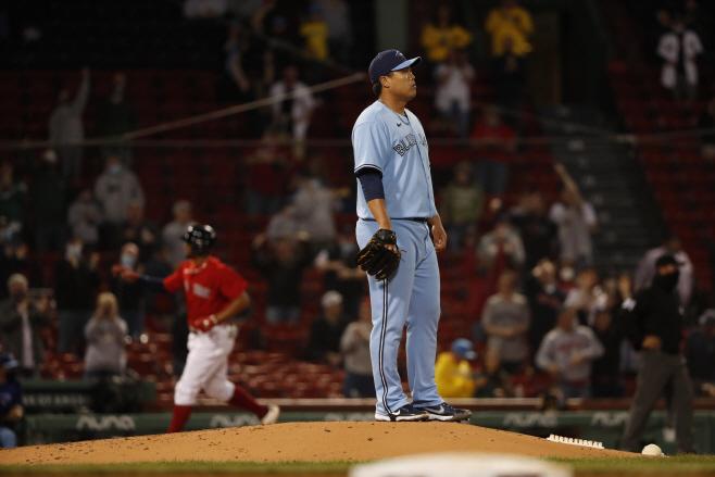 Blue Jays Red Sox Baseball <YONHAP NO-4451> (AP)