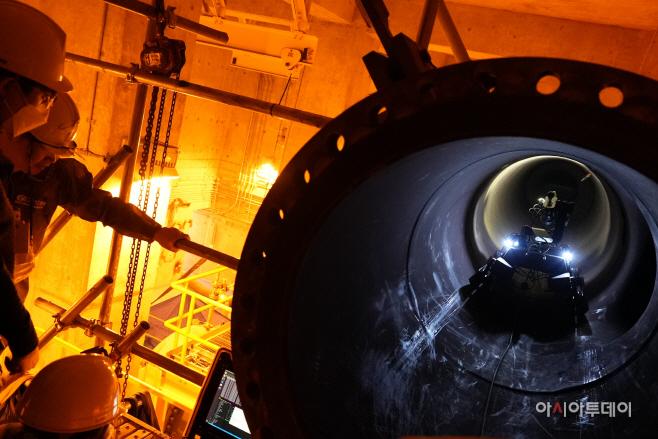 사진1. 해수배관 점검 로봇(PRIME, 프라임)