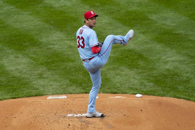 BASEBALL-MLB-PHI-STL/ <YONHAP NO-3475> (USA TODAY Sports)