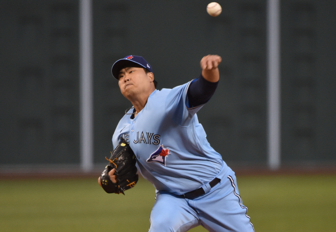 BASEBALL-MLB-BOS-TOR/ <YONHAP NO-3177> (USA TODAY Sports)