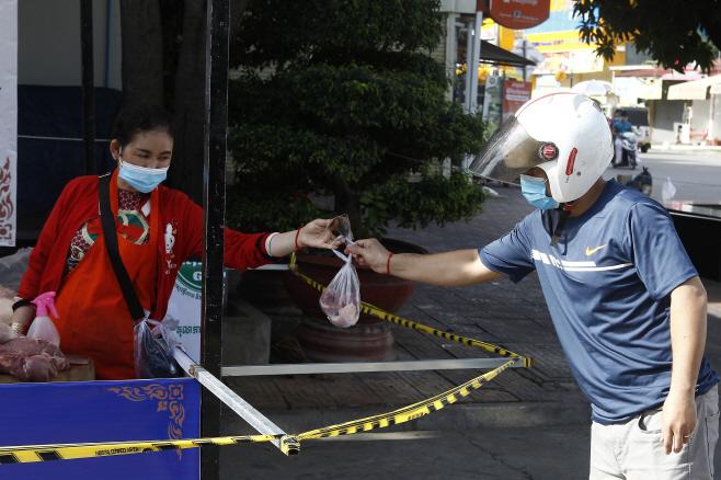 Virus Outbreak Cambodia <YONHAP NO-2643> (AP)