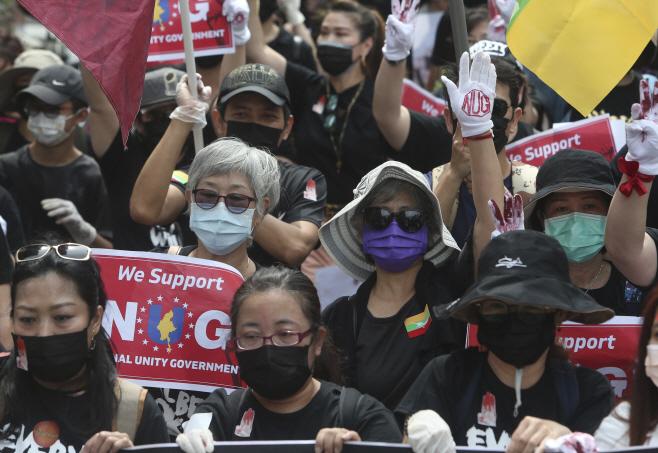 Taiwan Myanmar <YONHAP NO-4369> (AP)