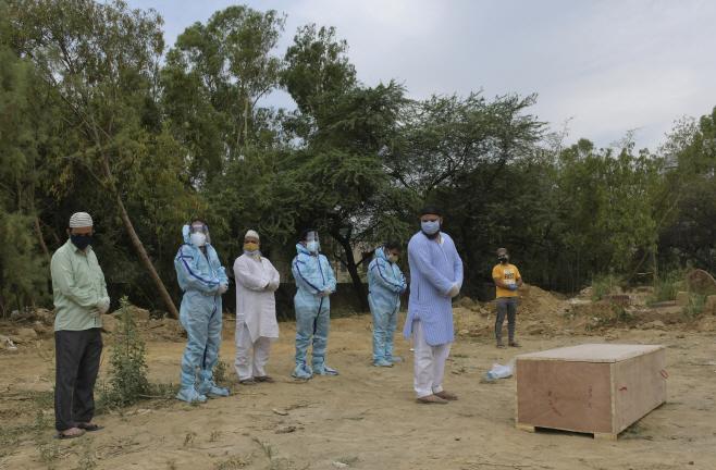 Virus Outbreak India <YONHAP NO-4542> (AP)
