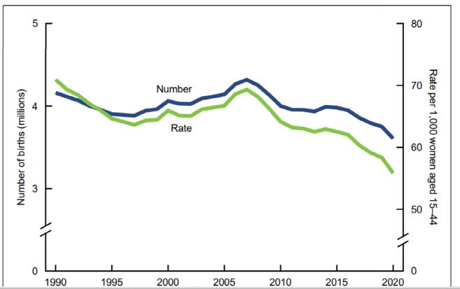 미국 출산율