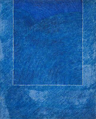 김환기, 산울림 19-II-73#307, 1973, 264x213cm