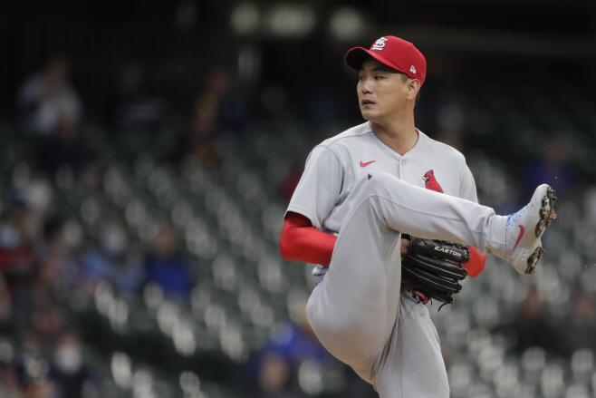 Cardinals Brewers Baseball <YONHAP NO-2751> (AP)