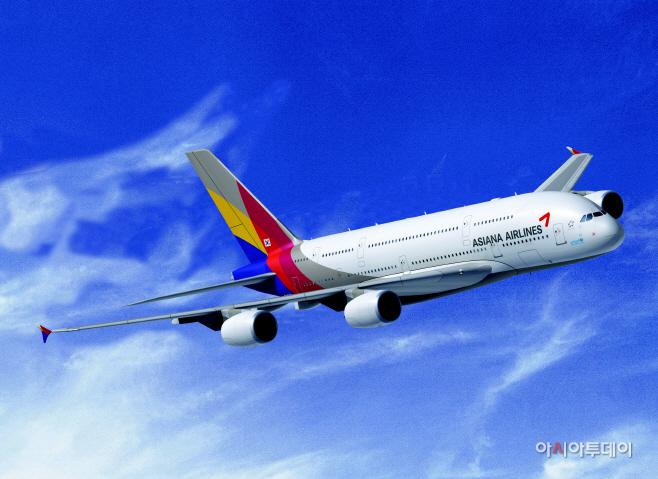 아시아나항공 A380 항공기