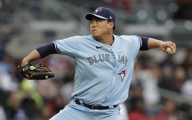 Blue Jays Braves Baseball <YONHAP NO-4023> (AP)