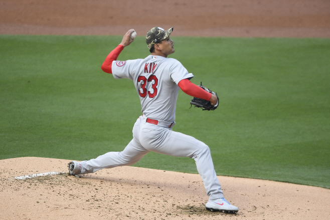 Cardinals Padres Baseball <YONHAP NO-1657> (AP)