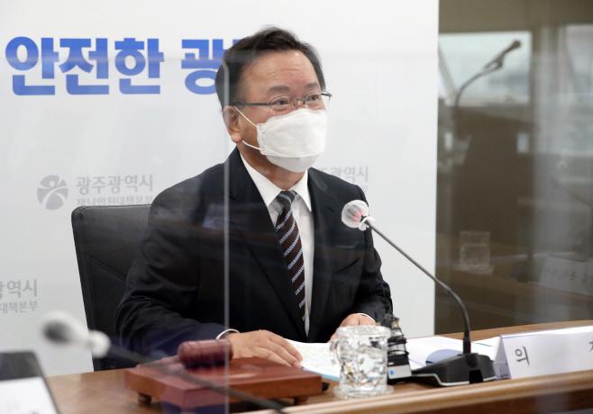 김부겸 국무총리, 광주에서 국무회의 주재