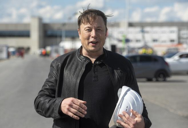 Germany Tesla <YONHAP NO-0037> (AP)