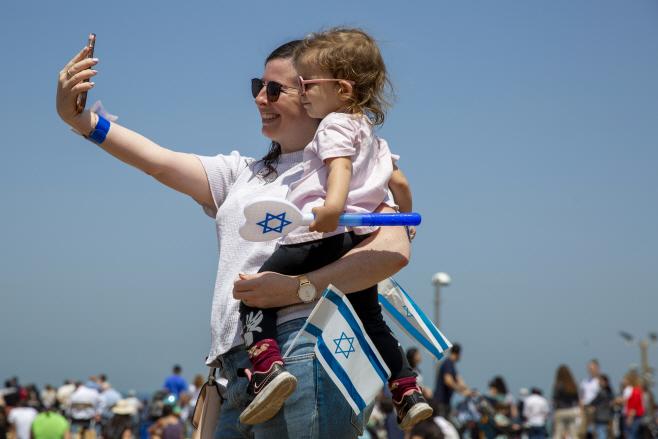 Israel Independence Day <YONHAP NO-5547> (AP)