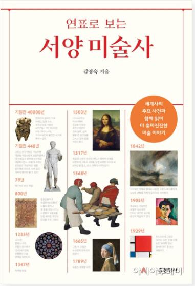 책 '연표로 보는 서양 미술사' 표지