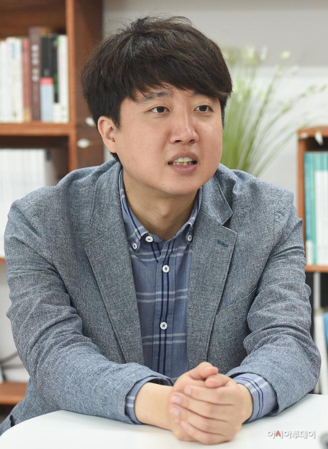이준석 전 미래통합당 최고위원 당대표 출마 릴레인 인터뷰